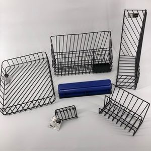 6 Piece Wire Desk Set